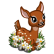 Daisy Deer Fawn-icon
