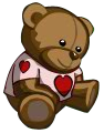 Heart Teddy-icon