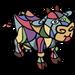 Picasso Cow-icon