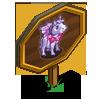Purple Fairy Mini Horse Mastery Sign-icon