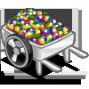 Rainbow Cart-icon
