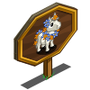 Aloha Mini Foal Mastery Sign-icon
