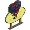 Black Leather Heart Tree Mastery Sign-icon