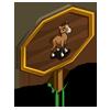 Buckskin Foal Mastery Sign-icon