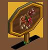 Christmas Morning Horse Mastery Sign-icon