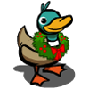 Holiday Wreath Duck-icon