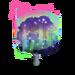 Rainbow Aurora Tree-icon
