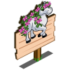 Stallion Flower Mastery Sign-icon