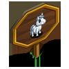 Stallion Mini Foal Mastery Sign-icon