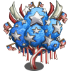 Stars and Stripes Tree-icon