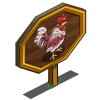Ameraucanas Rooster Mastery Sign-icon