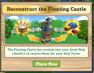 Floating Castle Pop Up