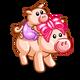 Piggy Back Pig-icon
