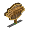 Wooden Board Mastery Sign-icon