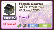 French Quarter Market Info