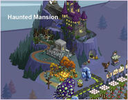 Haunted Mansion on farm
