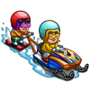 Snowmobile Sport-icon