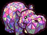 Mosaic Hippo