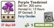 Purple Toadstool Market Info