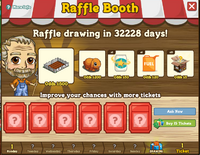 Raffle Booth Draw May 21 2012
