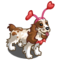 Pink Heart Cocker Spaniel-icon