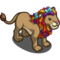Ribbon Mained Lion-icon