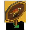 Corythosaurus Mastery Sign-icon