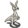 Grey Kangaroo-icon