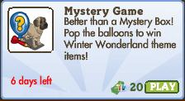Mystery Game 108 Market Info (June 2012)
