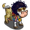 70s Disco Lover Cow-icon