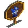 Blue Candy Pegacorn Mastery Sign-icon