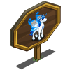 Blue Water Pegacorn Mastery Sign-icon