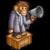 Chimpanzee Soap Box-icon