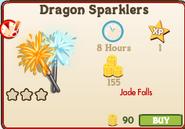 Dragon Sparklers Market Info