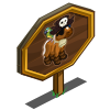 Mini Pirate Horse Mastery Sign-icon