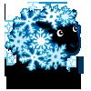 Snowflake Sheep-icon
