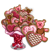 Valentine Cookie Tree-icon