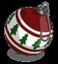 Winter red ornament-icon