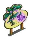 Big Bell Flower Tree Mastery Sign-icon