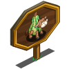 Gourd Cow Mastery Sign-icon