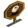 Welsh Mountain Sheep Mastery Sign-icon