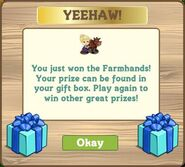 Whimsy farmhands