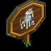 Cinderella Unicorn Mastery Sign-icon