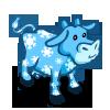 Snowflake Cow-icon