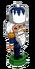 Winter white nutcracker-icon