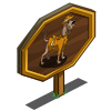 Constable Woof Mastery Sign-icon