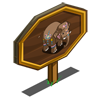 Indian Elephant Mastery Sign-icon