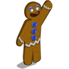Winter gingerbreadman-icon