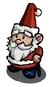 Winter santa gnome-icon