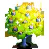 Yellow Sparkle Tree-icon